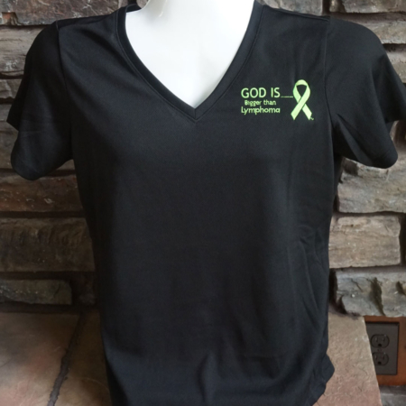 Women's Lymphoma V-neck