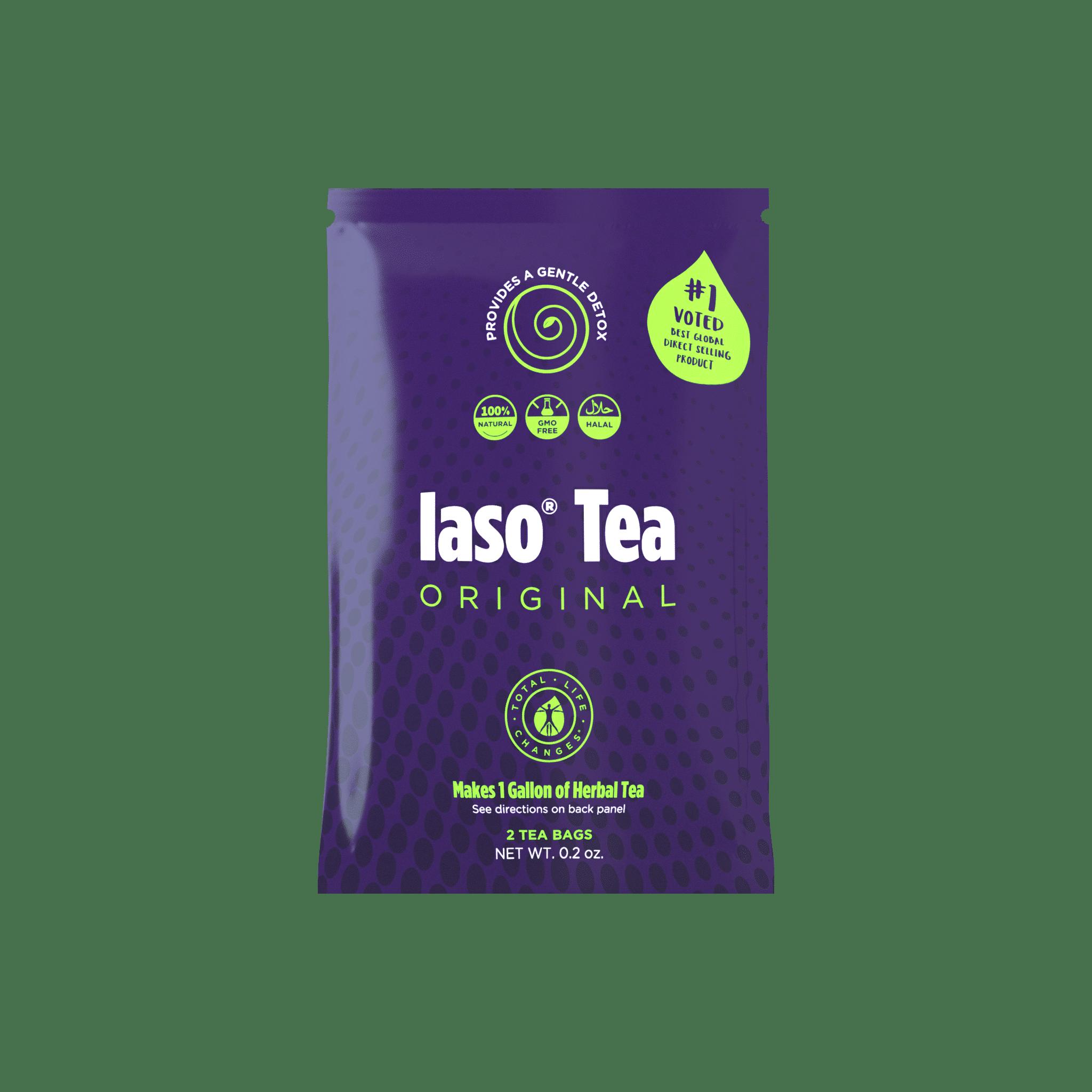 Iaso® Tea Package Front